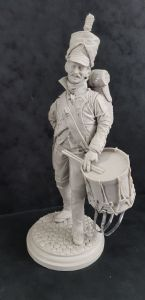 Helvetic Confederation Drummer - Full Figure 200mm